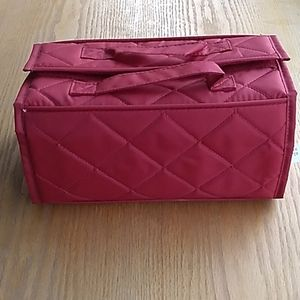 Red Cosmetic Case